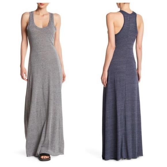 Alternative Apparel Dresses Racerback Maxi Dress Navy Sz S Poshmark